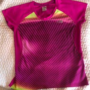 Pink Northface flashdry shirt